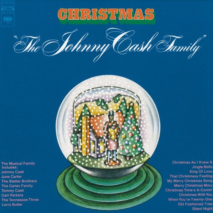 Johnny Cash Johnny Cash Family Christmas On Limited Edition Colored 180g Lp Johnny Cash Johnny Cash Live Johnny Cash Albums