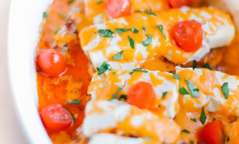 Photo of Cheesy Taco Chicken Casserole (Keto, Low Carb