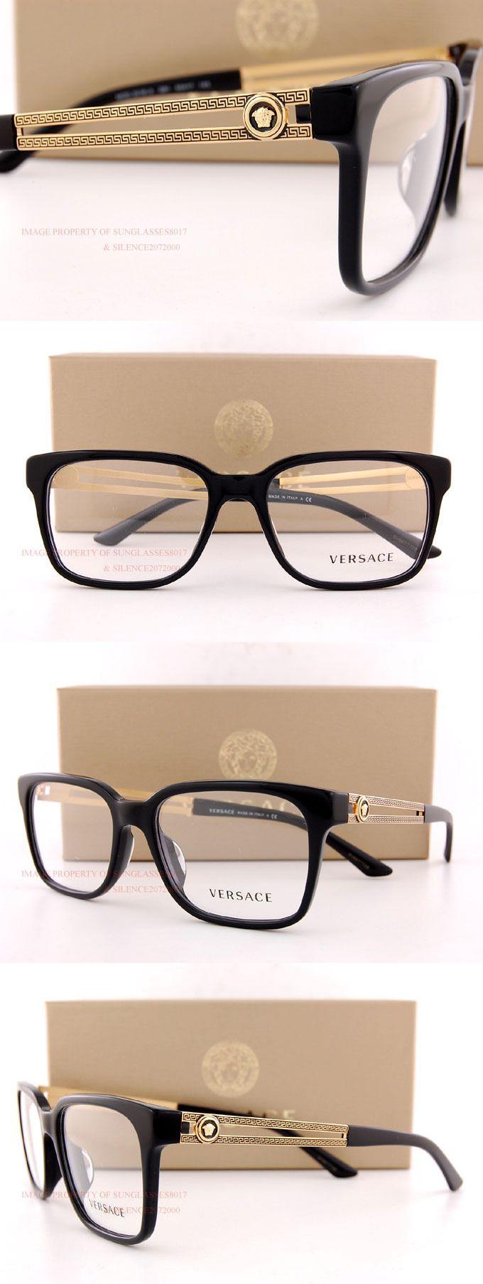 c0287877730b Eyeglass Frames: Brand New Versace Eyeglass Frames 3218 Gb1 Black Women Men  100% Authentic Sz 55 -> BUY IT NOW ONLY: $159.99 on eBay!