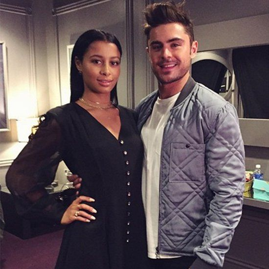 Pin for Later: Zac Efron and His Girlfriend Hang Backstage at the MTV Movie Awards
