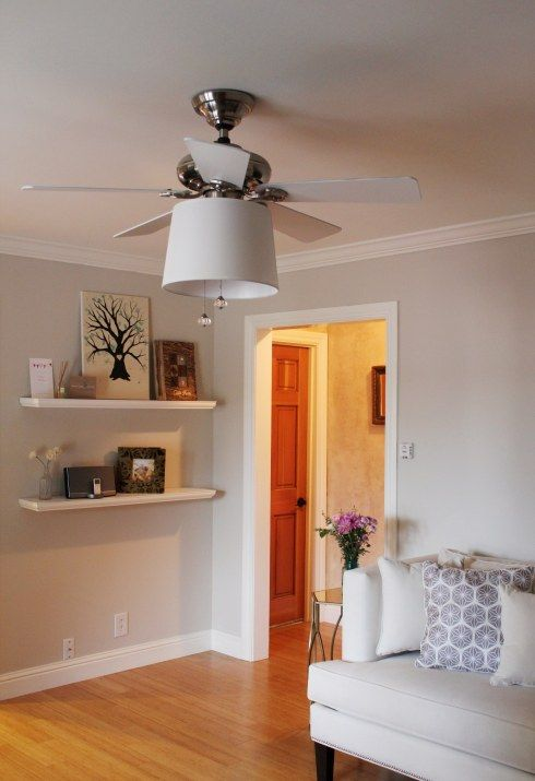 Ceiling fan revamp Decorating - Bedroom Pinterest Ceiling fan