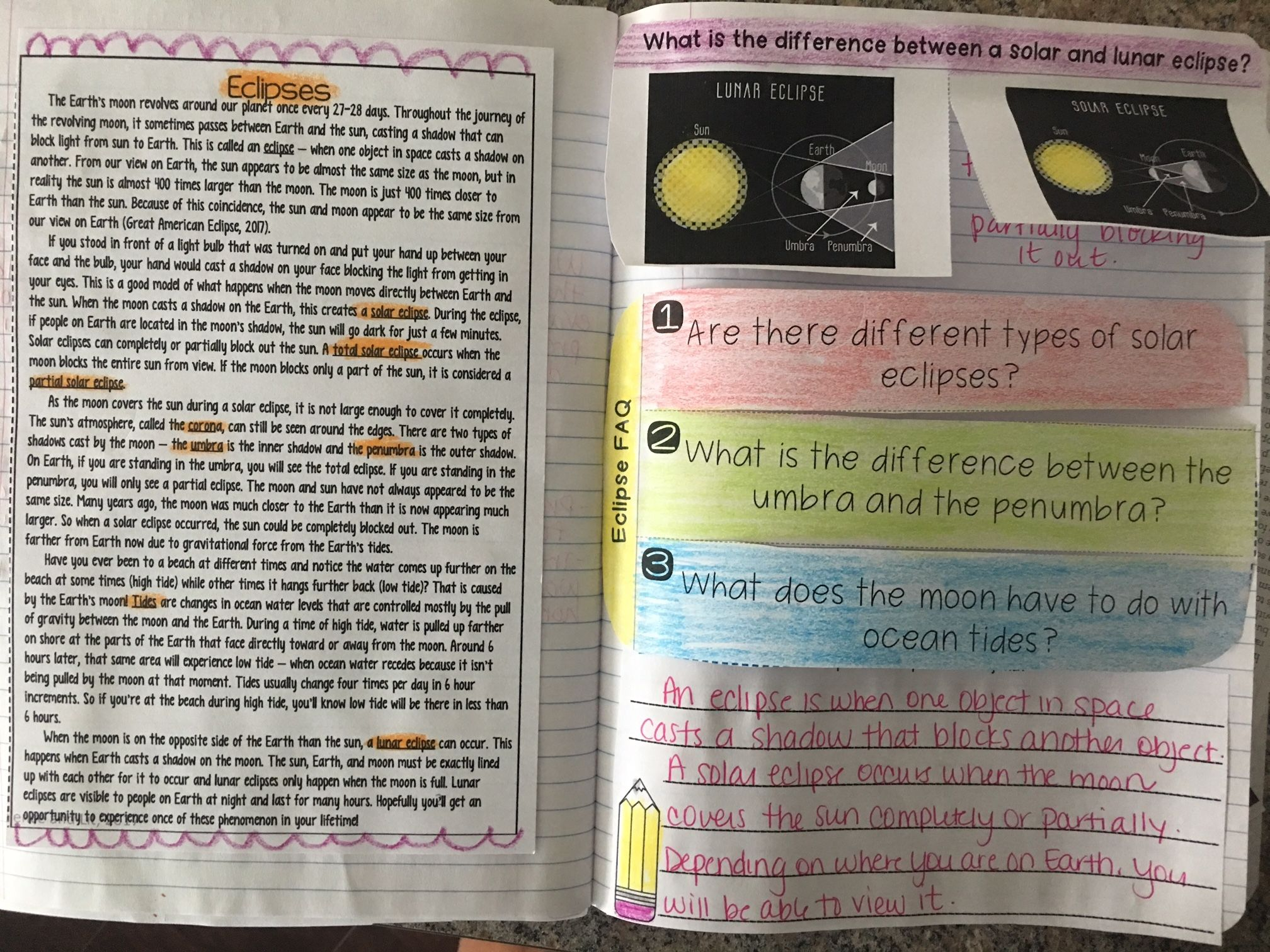 Solar Eclipse Read And Apply Activity Includes Reading Passage Great For Close Reading Inte Solar And Lunar Eclipse Reading Passages Interactive Activities [ 1512 x 2016 Pixel ]
