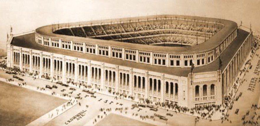 Pin by Wayne Sacks on Stadiums Yankee stadium, Angel