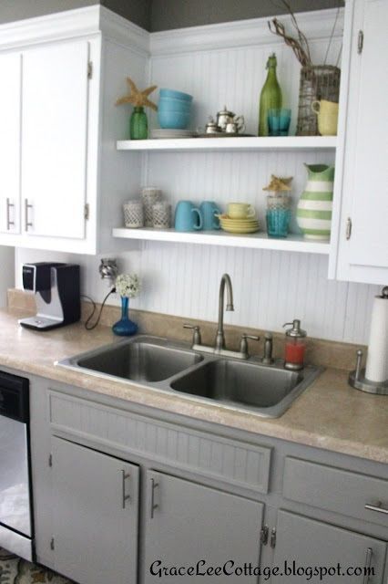 Kitchen Shelves Above Sink Shelf Cabinets Inch Hoosier Cabi Awesome Unfinished Corner Cabinets For Dining Room 2018