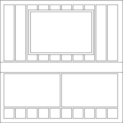 Template 47 Block Sizes Ten Striped Blocks Are 1 X 5 5 Inches