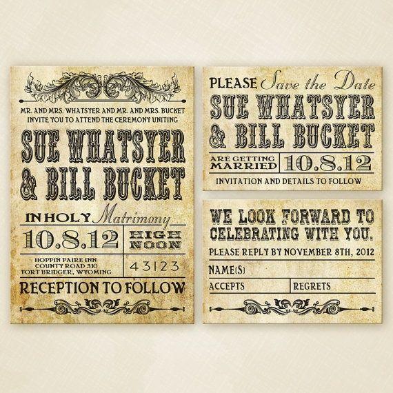 Western Wedding Invitation Set Printable Western Wedding Invitations Western Wedding Floral Wedding Invitation Card