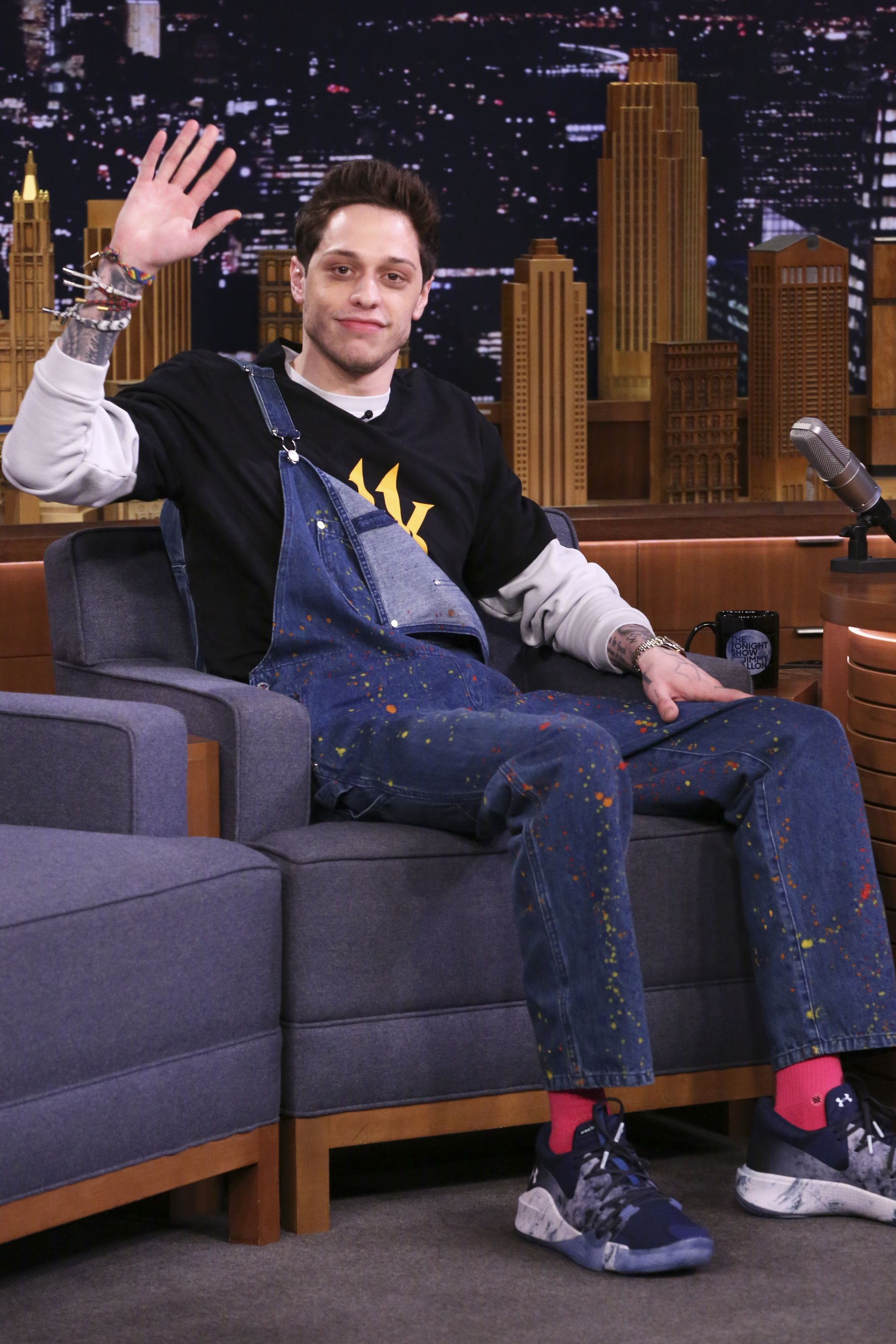 Pete Davidson Got A Back Tattoo While Watching 'Game Of