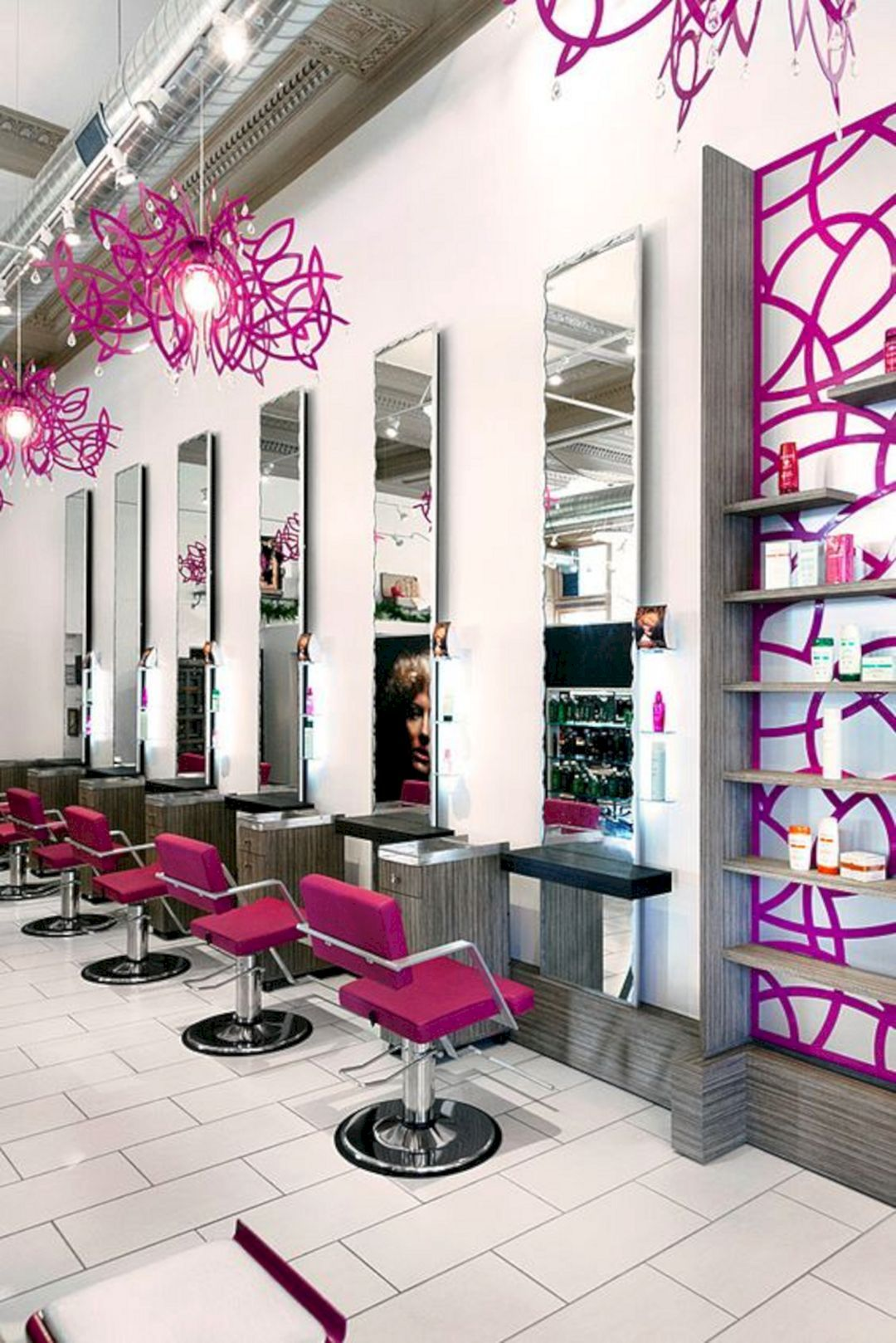 Nice 50 Beautiful Design And Layout For The Perfect Salon Interior Https Decoredo Com 9152 50 Beautiful Hair Salon Design Salon Decor Salon Interior Design