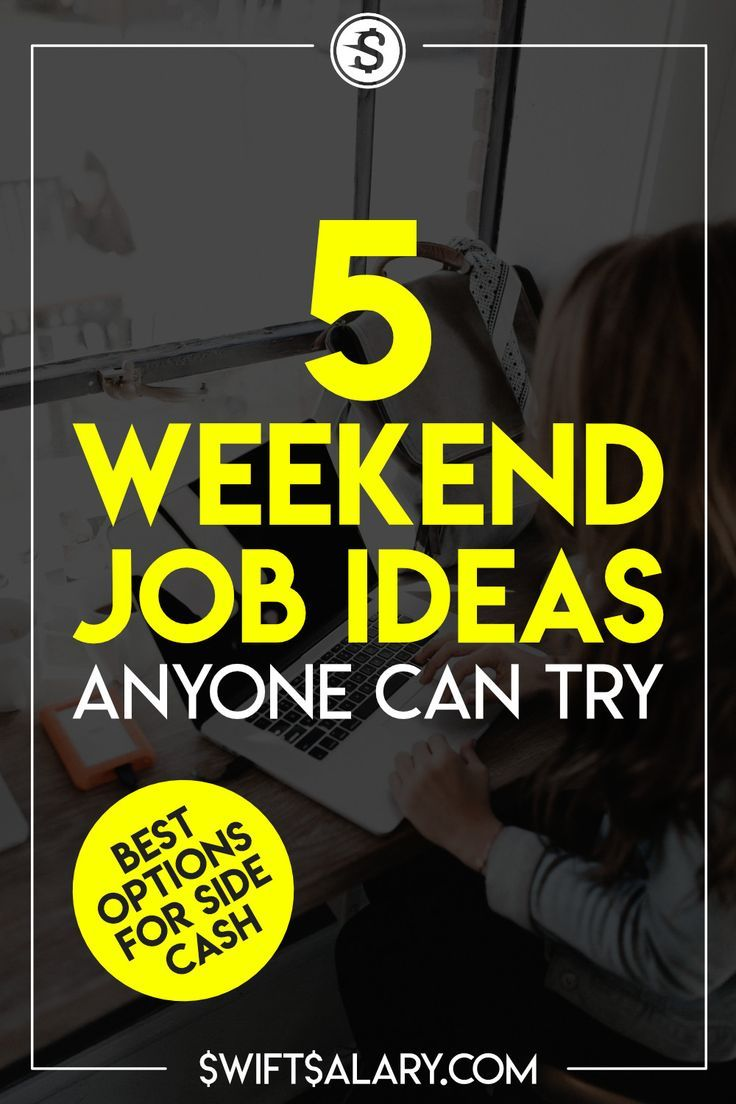 5 Best Weekend Jobs for Extra Money (Boost Your