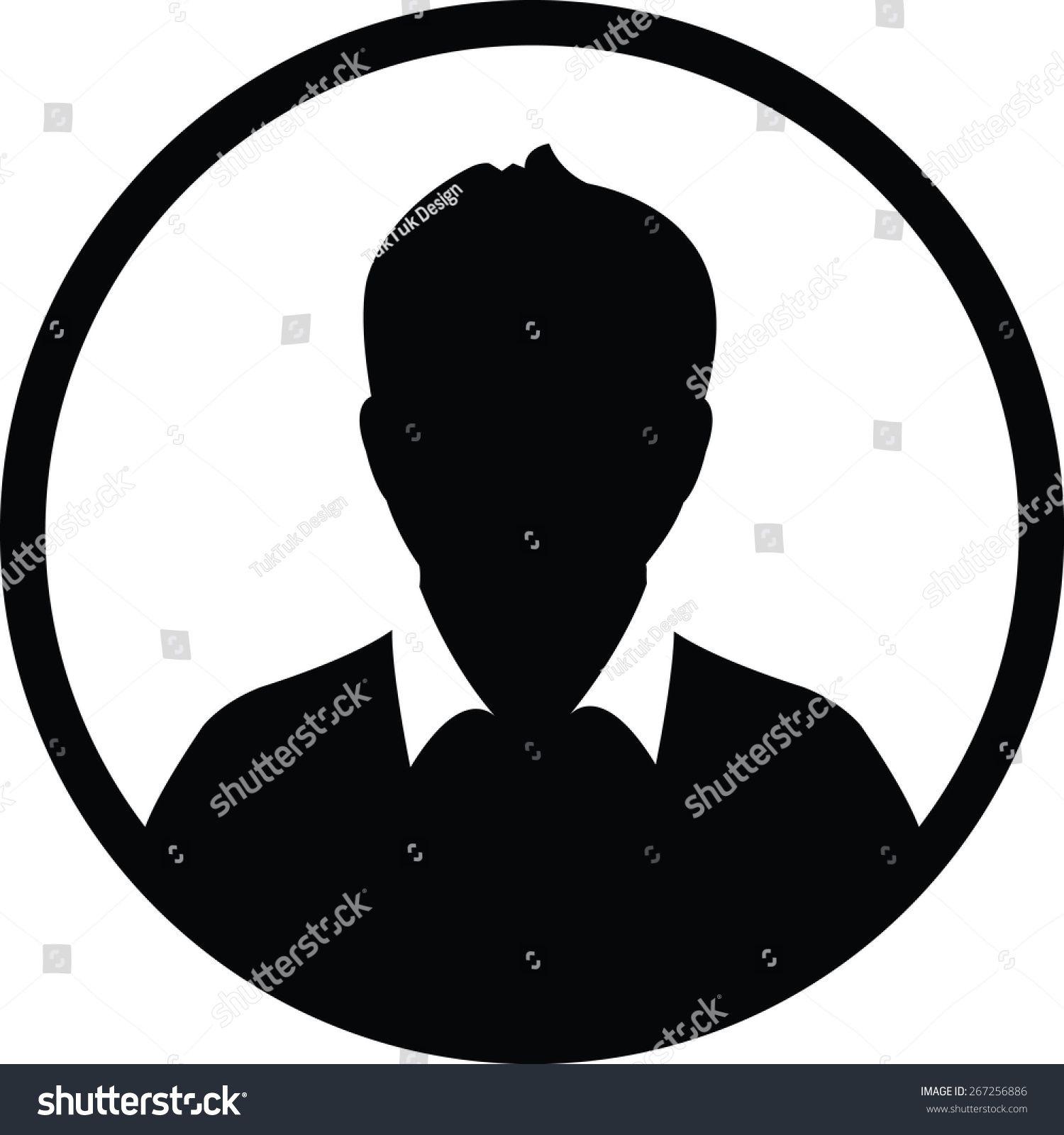 User Icon Vector Male Person Symbol Profile Avatar Sign in