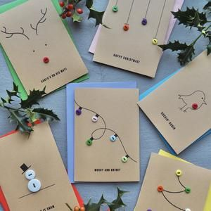 Pack of Christmas Cards, Xmas Card Multipack, Fun