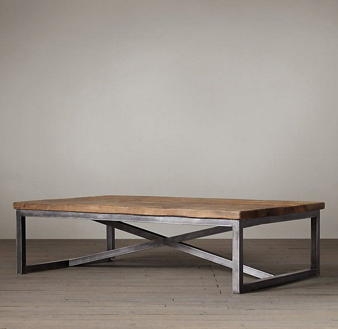 How To Decorate Your Coffee Table Design Like A Pro Coffee Table Loft Coffee Table Wood Iron Coffee Table [ 1053 x 1080 Pixel ]