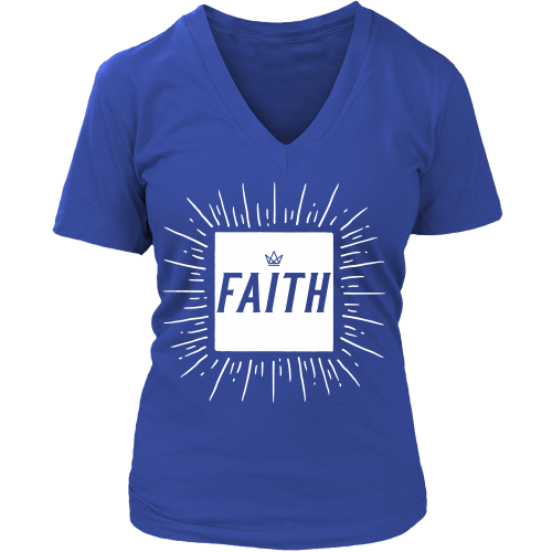 Faith Woman V-Neck