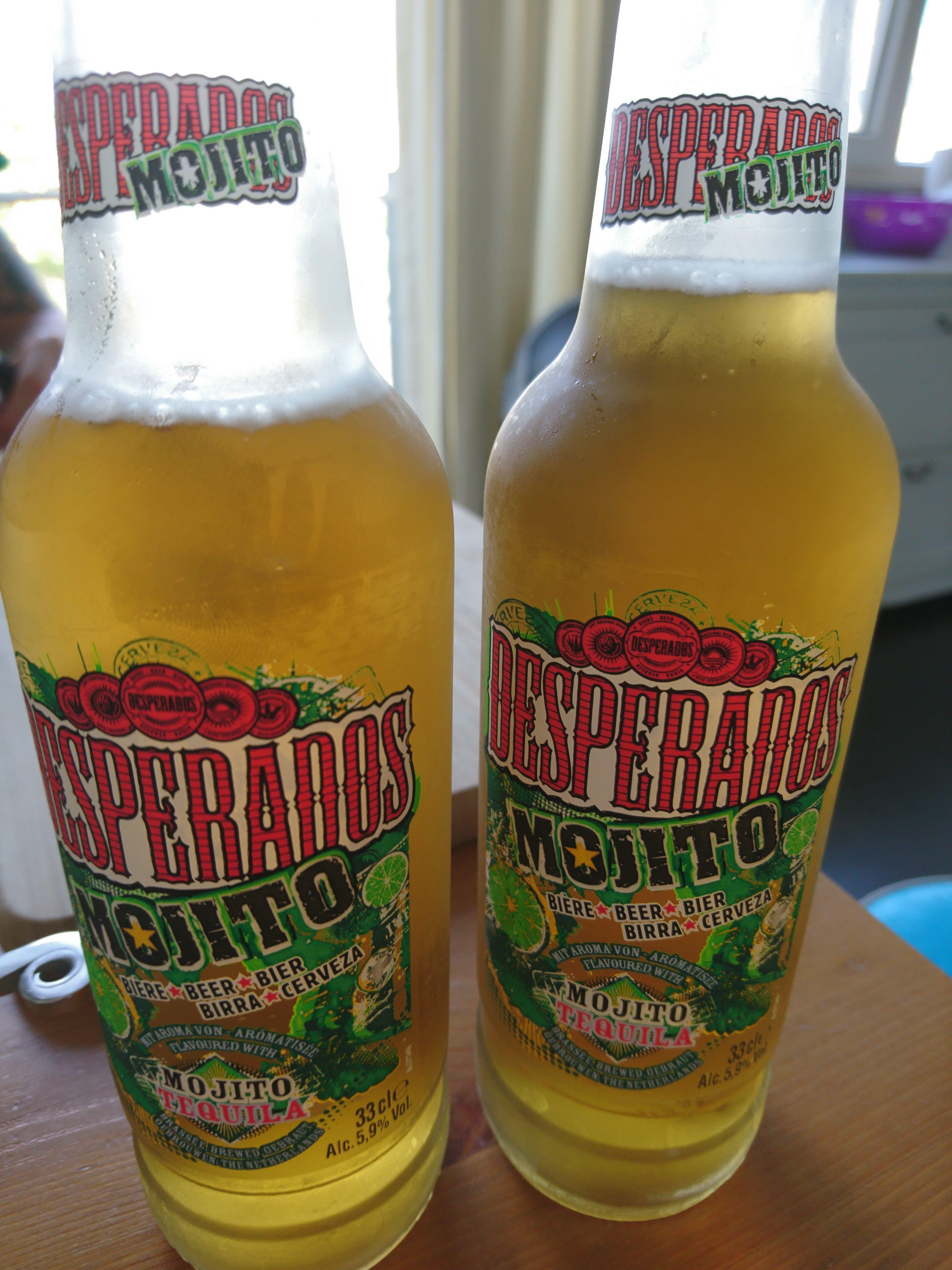 Desperados Mojito Vegan Bier