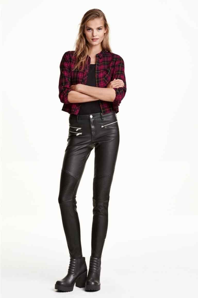 Pantalon de style motard   H&M (avec images)   Style motarde