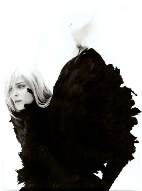 Carmen Kass by Dusan Reljin for Numéro #105