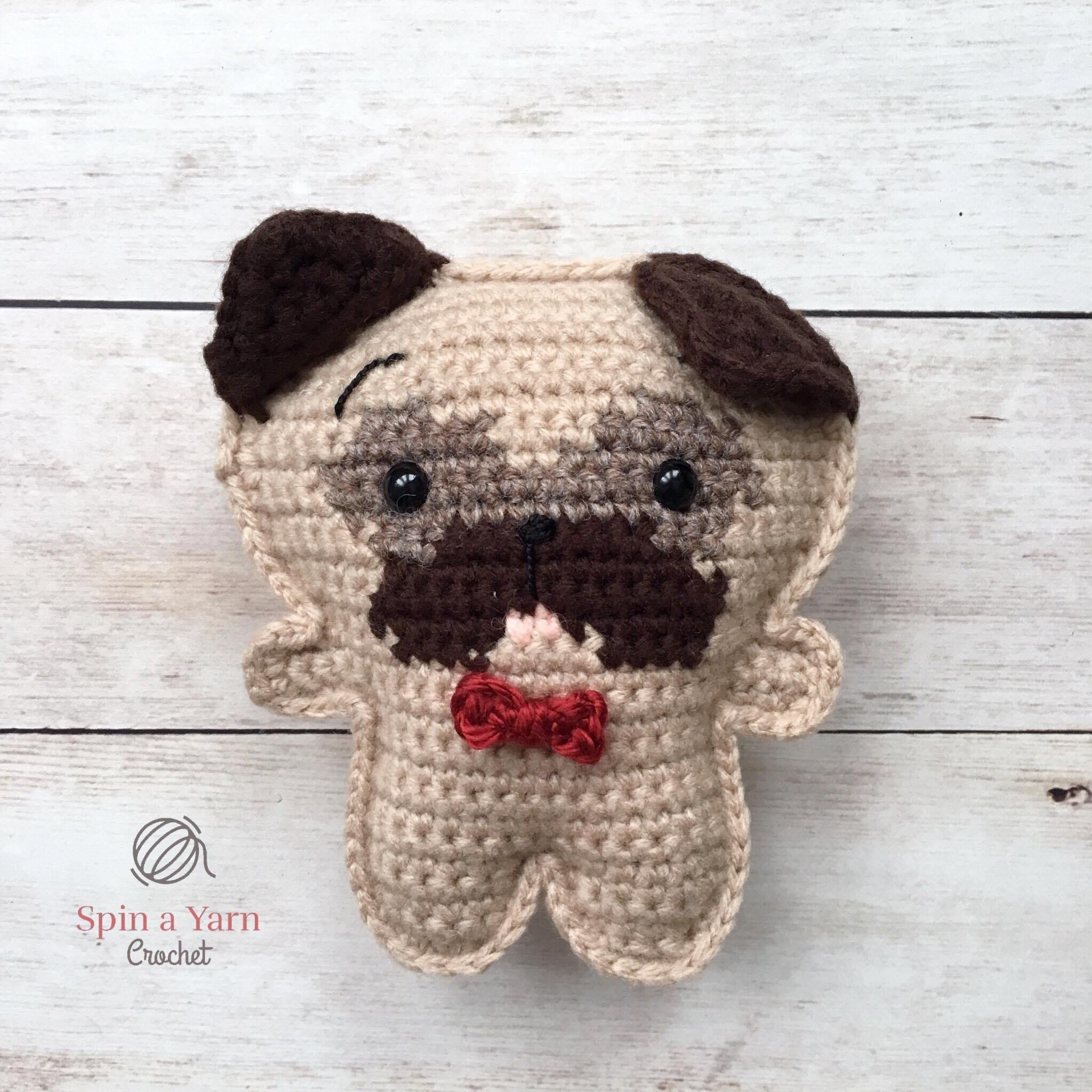 Pocket Pug Free Crochet Pattern | Crochet patterns ...