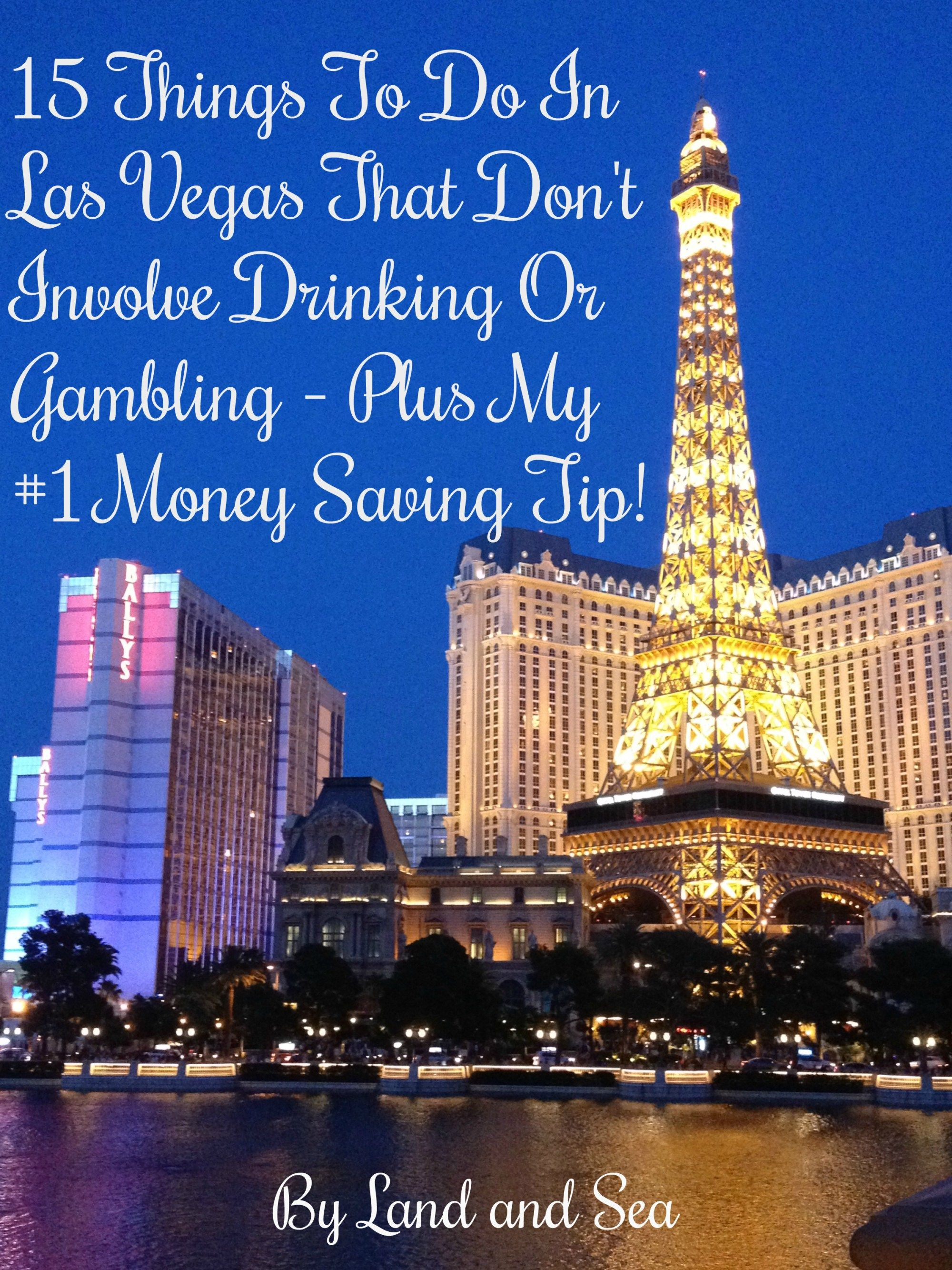 15 things to do in las vegas that dont involve drinking