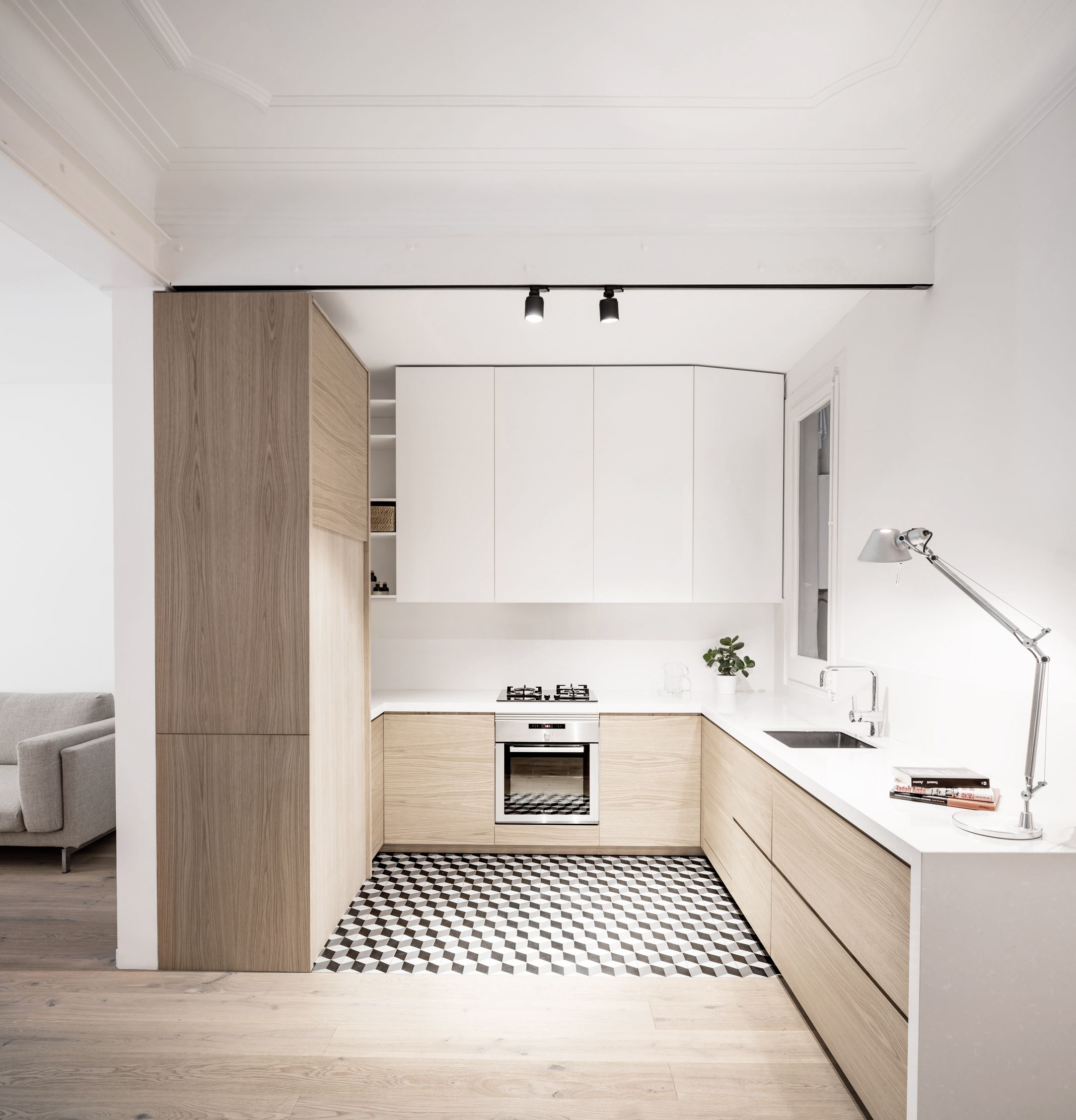 Apartment Alan / Adrian Elizalde | comedor | Pinterest | Cocinas ...