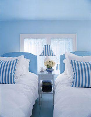 blue and white | Azul como el cielo | Pinterest | Wohnen