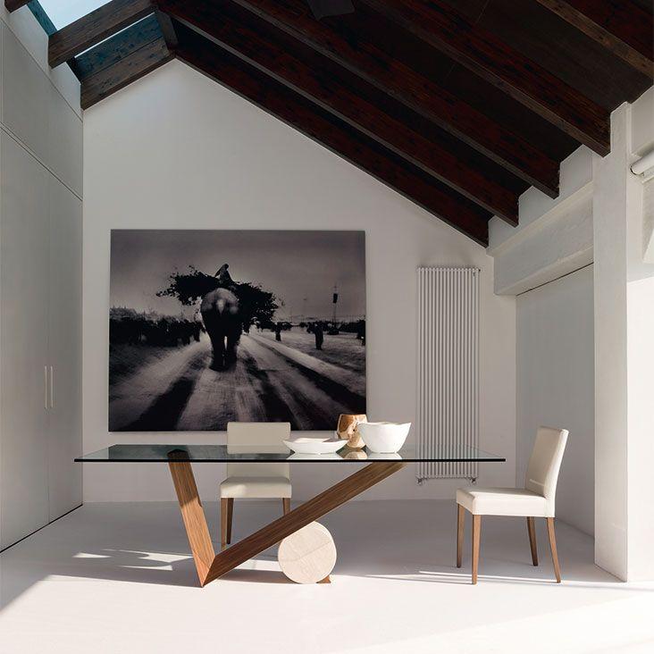 Cattelan Italia Valentino table by Emanuele Zenere ...