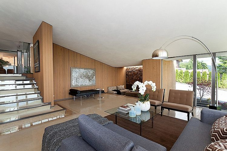 mid century modern home by ron thom - Mid Century Modern Home Interiors