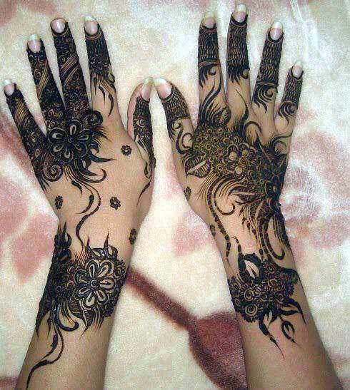Arabic Mehndi Design For Men: Henna Designs For Hand Feet Arabic Beginners Kids Men