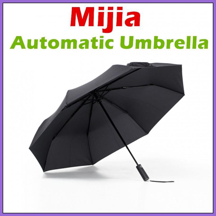3339db2d788d New Xiaomi Mijia Automatic Sunny Rainy Umbrella Aluminum Windproof ...
