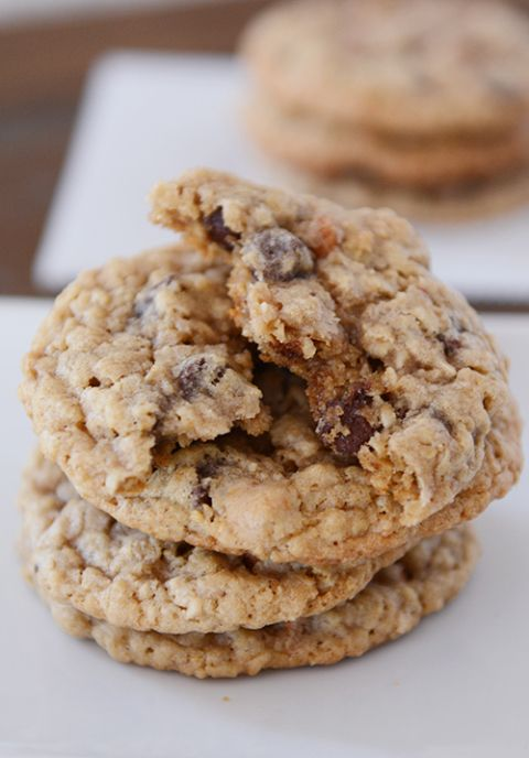 Oatmeal Butterscotch Chocolate Chip Cookies- Brandon loved these!
