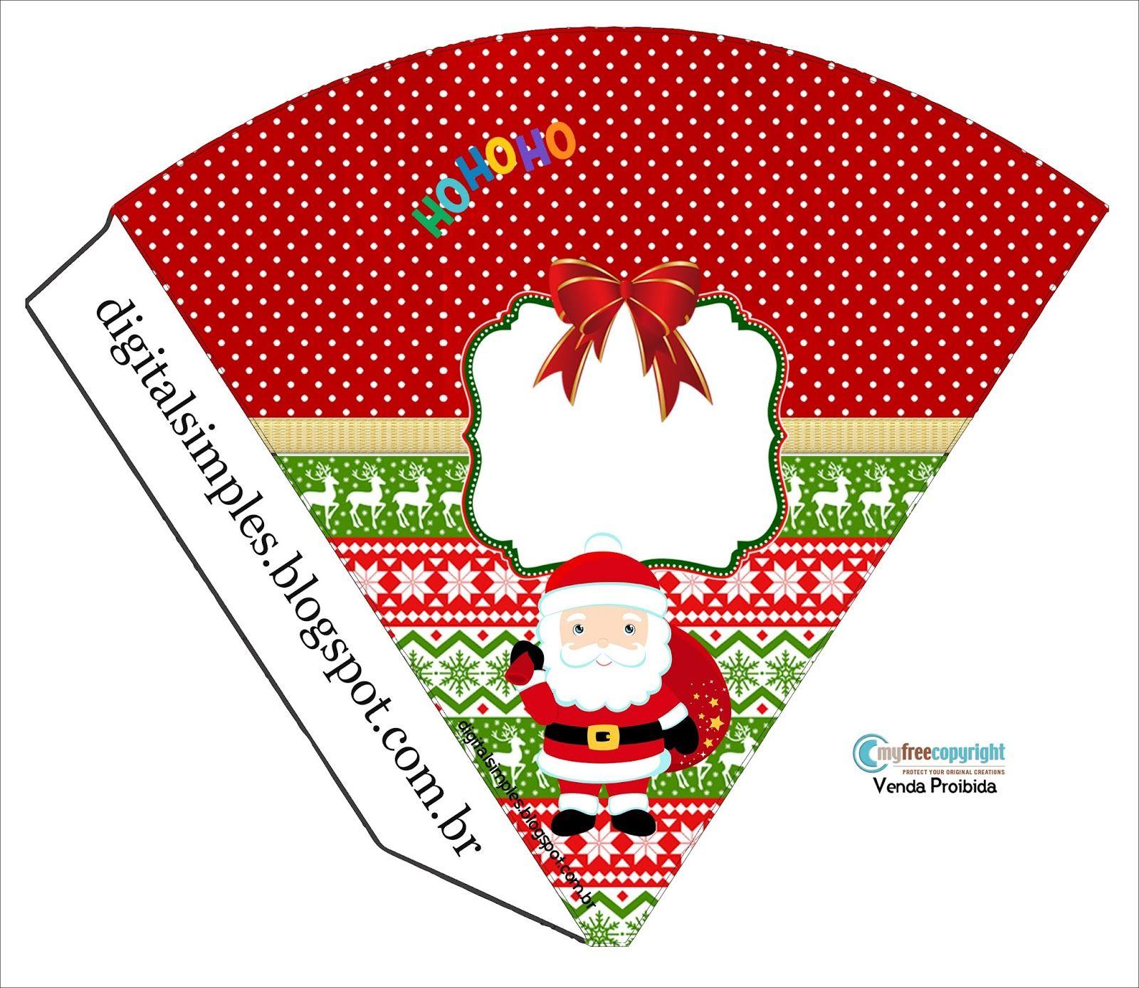 Kit Digital para Festa Tema Natal - Convites Digitais