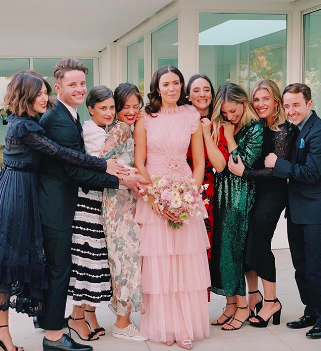 Mandy Moore Just Got Married In The Dreamiest Pink Dress Event