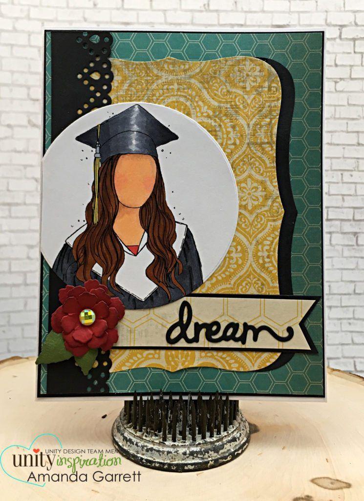 Photo of Layering up Designer paper on Graduation cards! – Unity Blog