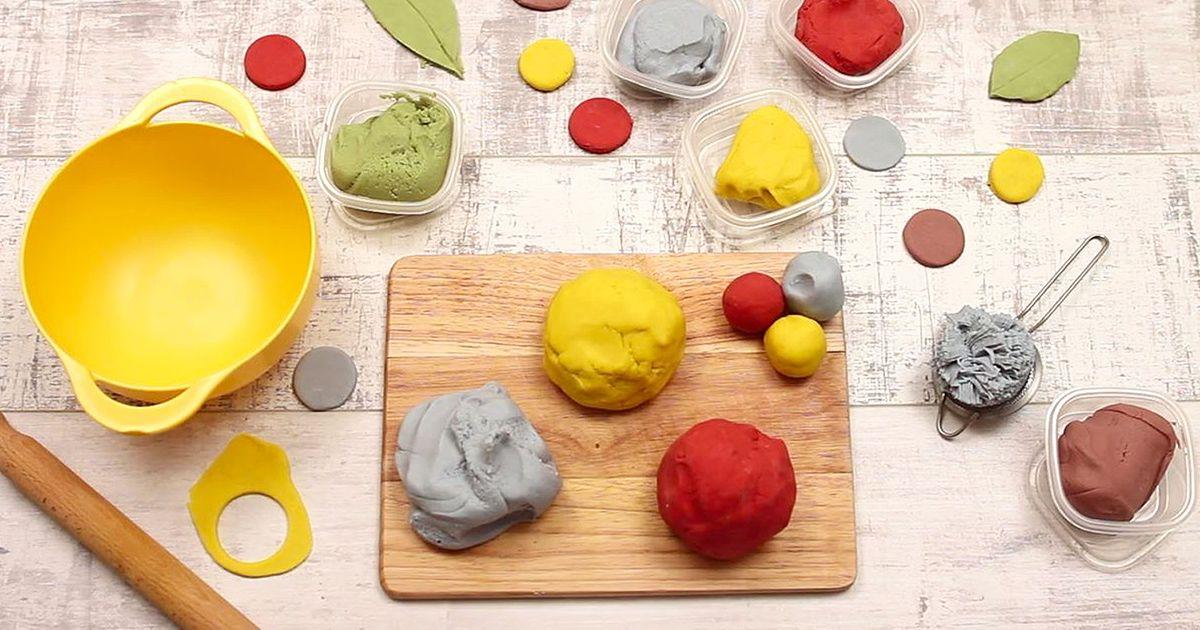 NoCook Play Dough Recipe Cooked playdough, Playdough