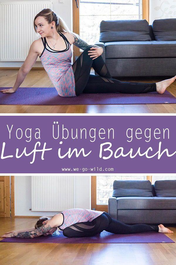 Die 6 besten Yogaübungen gegen einen aufgeblähten Bauch Luft im Bauch ist sehr unangenehm. Wir zeige...