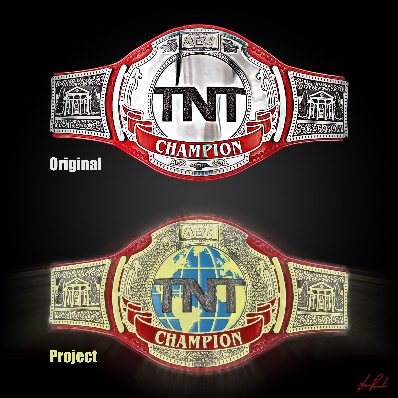 Aew Tnt Championship Idea Aew Tnt Tntdrama Aewdynamite Tntchampionship Wrestling Prowrestling Belt Title Wrestlin Pro Wrestling Njpw Juventus Logo