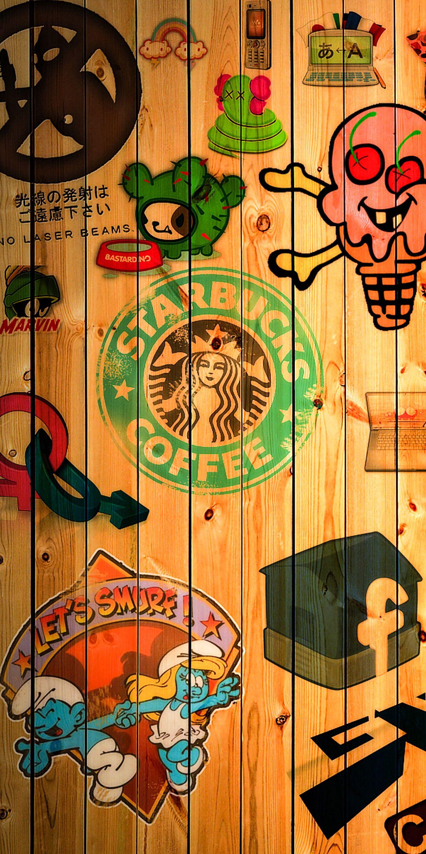 Pin Oleh Marivaldo Santos Di Iphone X Wallpapers Seni Jalanan Seni Doodle Kertas Dinding