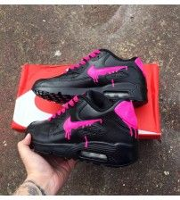 6d46cf1ca60e Air Max 90 Candy Neon Pink Drippy Trainer Outlet