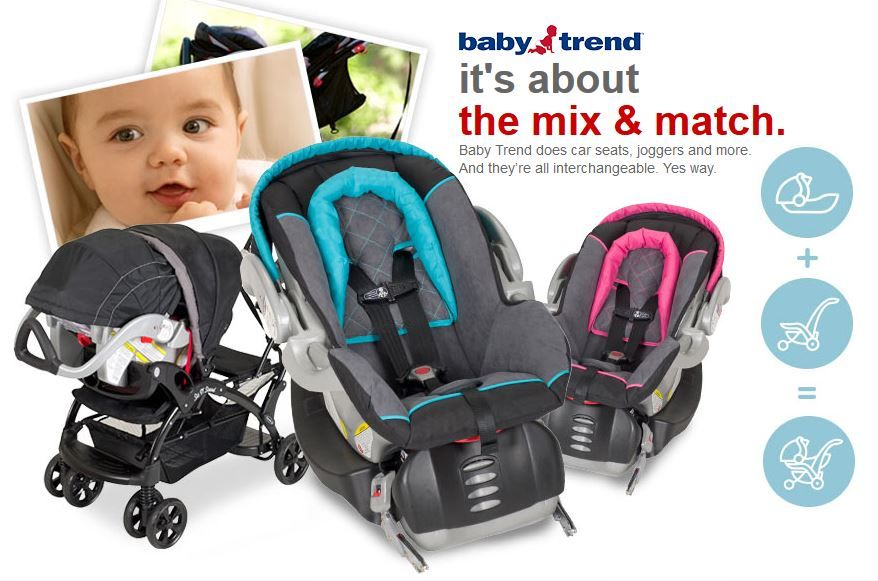 Mix And Match Strollers Car Seats With Baby Trend At Target