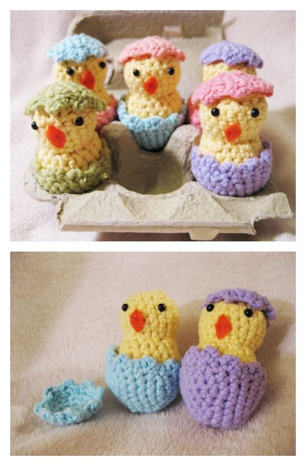 Adorable Free Chick Crochet Patterns Easter Crochet And Patterns