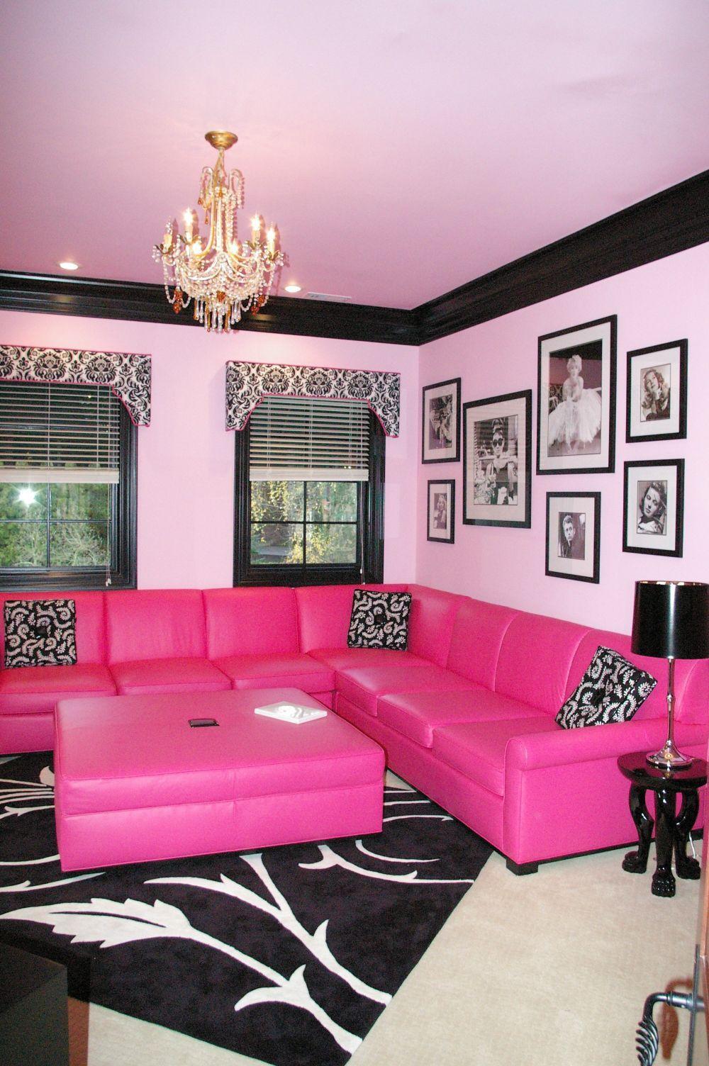 Oh my princess rosa wohnzimmer wohnzimmer und bilder wohnzimmer - Barbie wohnzimmer ...