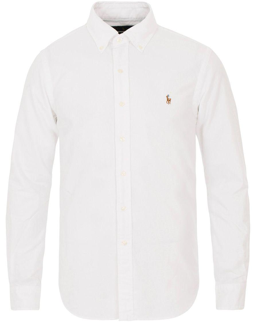 0e8e4fd1036 Polo Ralph Lauren Slim Fit Shirt Oxford White i gruppen Kläder / Skjortor /  Oxfordskjortor hos