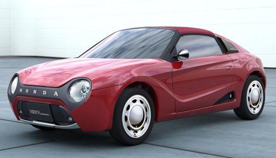 Neo Classic Honda S660 Car Retro Cars Concept Cars Japan Cars