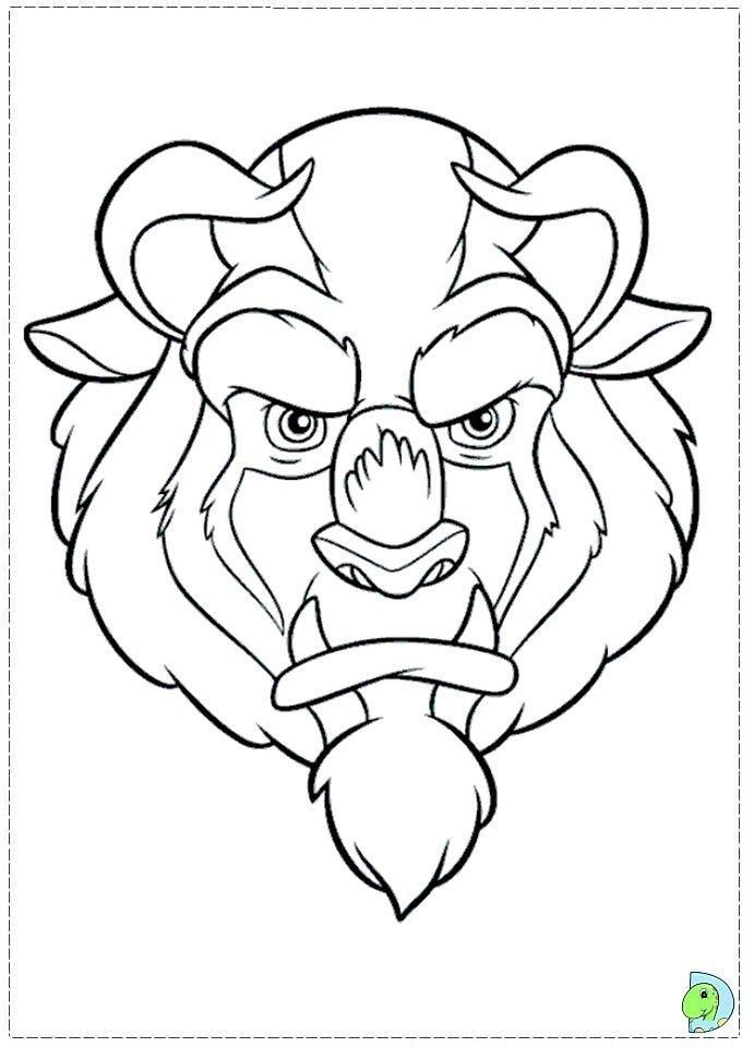Discover Ideas About Disney Coloring Pages The Beauty And Beast