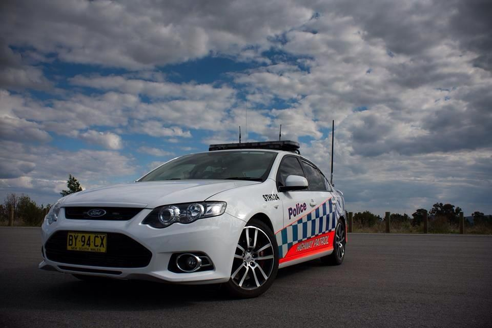 New South Wales Australia Highway Patrol Ford Falcon Xr6 Turbo
