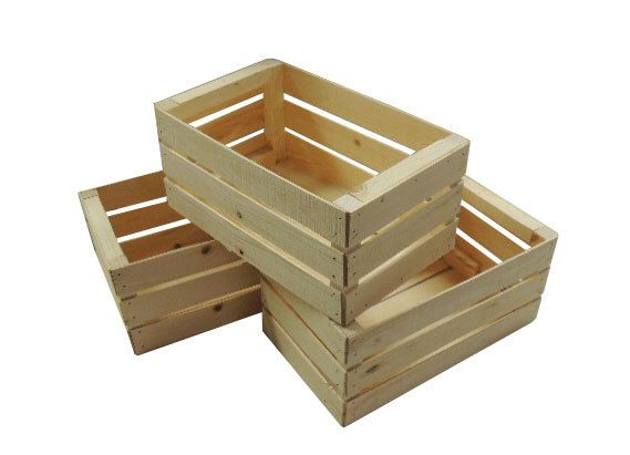3 small wooden crates fully assembled by dwrogerssales on etsy httpswww - Small Wooden Crates
