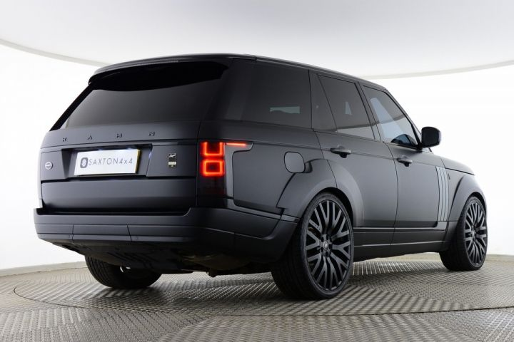 Used Land Rover Range Rover Tdv6 Vogue Project Kahn Rs Black For Sale Essex Yd14hyc Saxton 4x4 Range Rover Best Midsize Suv Land Rover