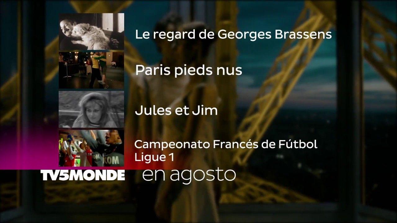 En Agosto 2017 la mejor programación en francés con subtítulos en español está por TV5MONDE America Latina