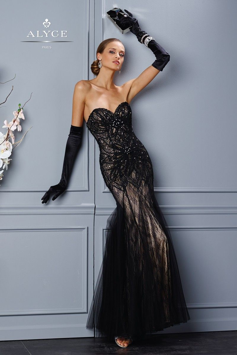 Alyce Black Label Dress | Style #5697 Front View | Fall 2015 ...