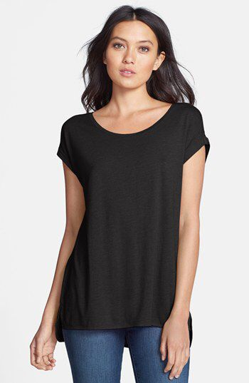 Stem Stem High/Low Knit Tee available at #Nordstrom