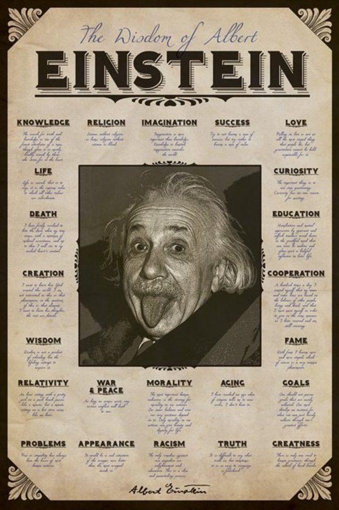 Albert Einstein Quotes Official Poster L I F E Pinterest